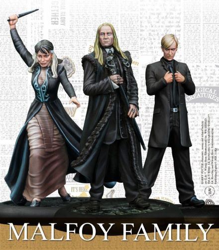 Harry Potter Miniatures Adventure Game - Malfoy Family Expansion Pack